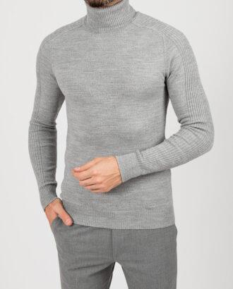 Мужская водолазка,  серого цвета. Арт.:8-1853