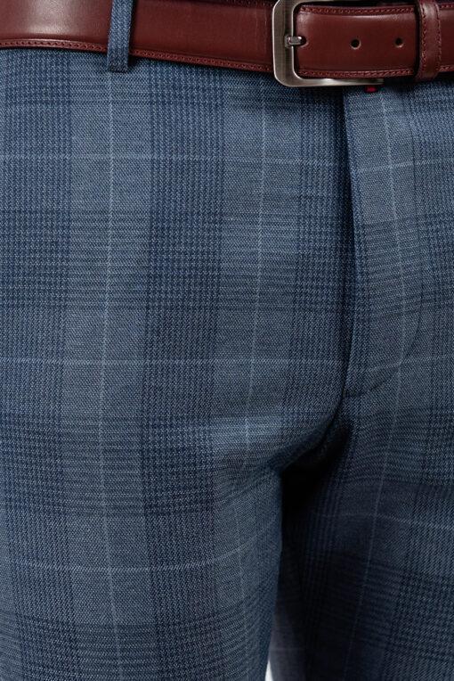 Светлые брюки синего цвета. Арт.:6-1871-3