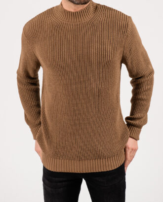 Мужской свитер бежевого цвета. Арт.:8-1930