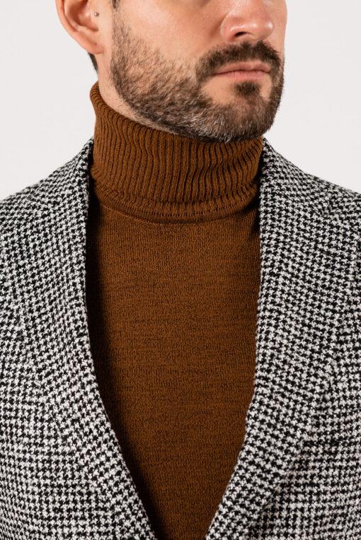 Мужской пиджак в ломанную  клетку. Арт.:2-1941-3