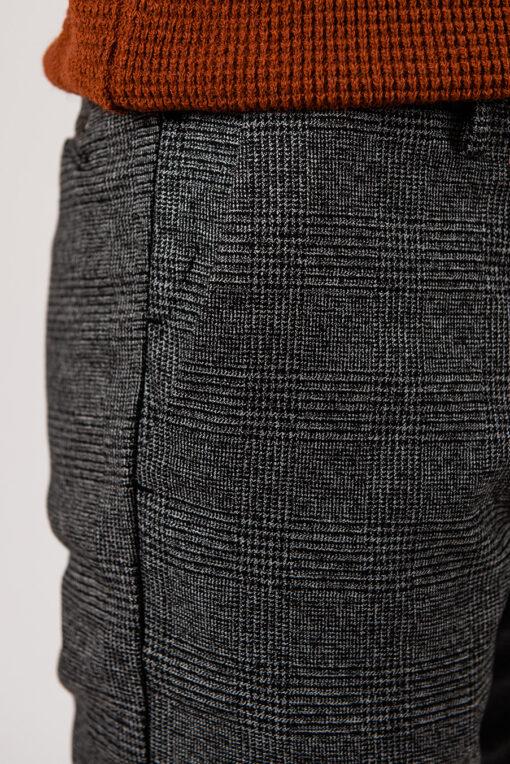 Мужские брюки серого цвета. Арт.:6-1958-2