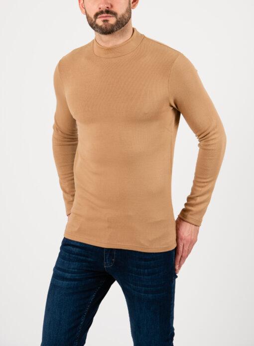 Мужская водолазка бежевого цвета. Арт.:8-2108