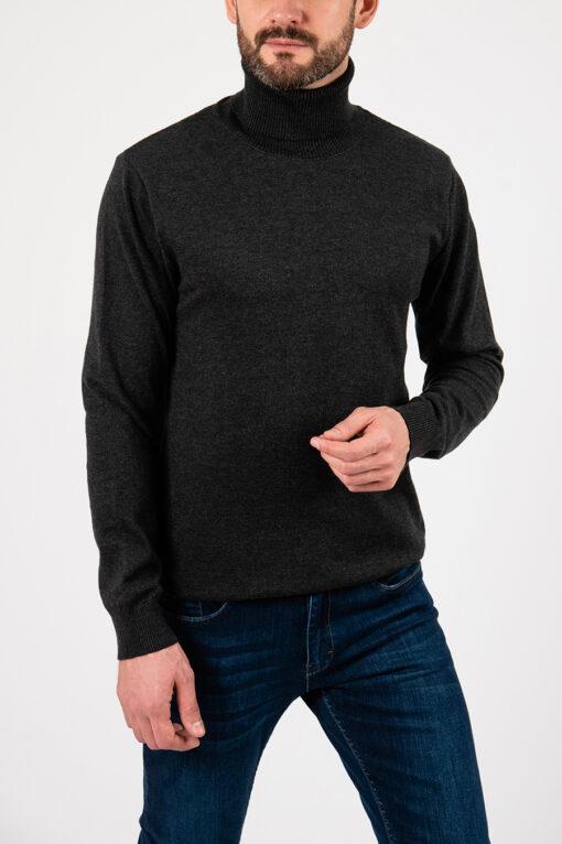 Мужская водолазка серого цвета. Арт.:8-2107
