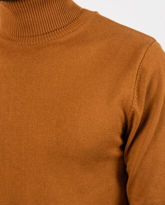 Мужская водолазка горчичного цвета. Арт.:8-2111