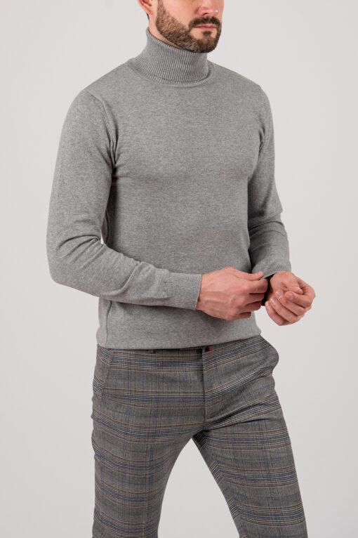 Мужская водолазка серого цвета. Арт.:8-2132