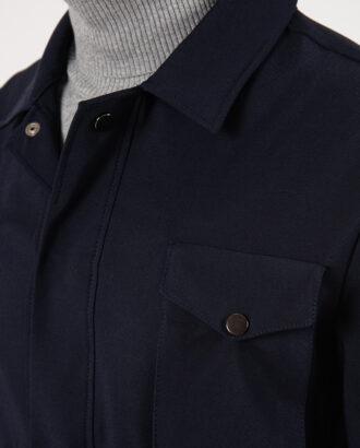 Стильная мужская куртка черного цвета. Арт.:15-2134