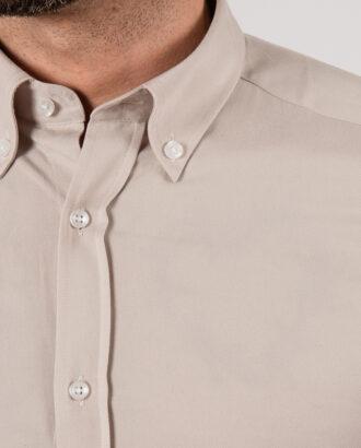 Мужская рубашка бежевого цвета. Арт.:5-2138-3