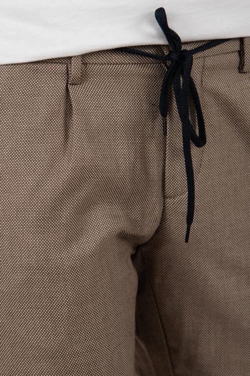 Мужские зауженные брюки со шнурком. Арт.:6-2164-2