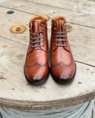 Как ухаживать за кожаной обувью зимой