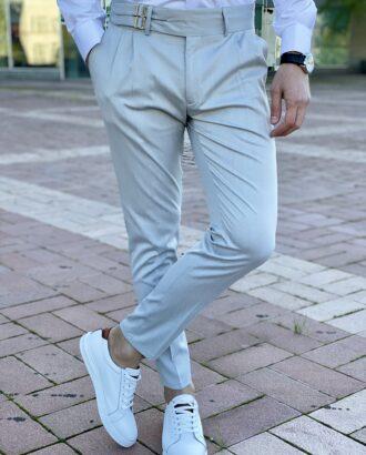 Мужские брюки с широким ремнем. Арт.: 6-2214-3
