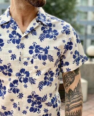 Стильная рубашка с коротким рукавом. Арт.:2311