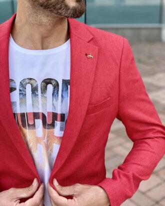 Красный пиджак. Арт.:2382