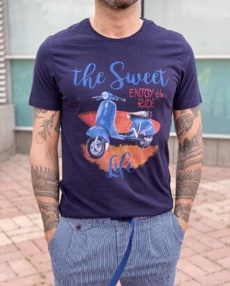 Стильная футболка с принтом. Арт.:2370