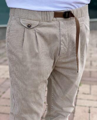 Стильные брюки на ремешке. Арт.:2374