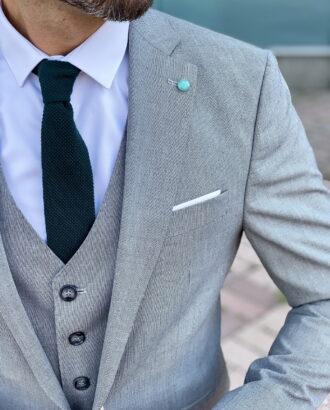 Мужской костюм-тройка. Арт.:2407