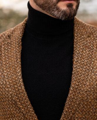 Пиджак горчичного цвета на каждый день. Арт.: 2514