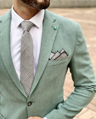 Легкий зеленый пиджак. Арт.: 2603